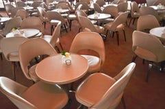 Lederne Stühle lizenzfreie stockfotografie
