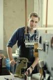 Lederner Werkstattinhaber Lizenzfreie Stockfotos
