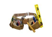Lederner Werkzeugkoffer für Bequemlichkeit Lizenzfreies Stockfoto