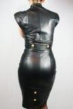 Ledernes Kleid Stockfotos