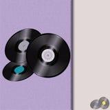 Ledernes Musik-Tagebuch mit Aufzeichnungen Stockbild