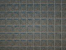 Ledernes Quadrat n?hte graue Beschaffenheit oder Hintergrund lizenzfreie abbildung