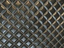 Ledernes Quadrat n?hte schwarze Beschaffenheit oder Hintergrund vektor abbildung