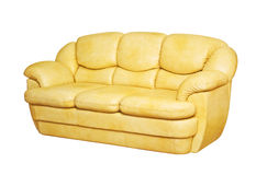 Ledernes Sofa Lizenzfreie Stockfotografie