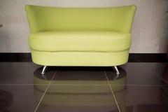Ledernes Sofa Lizenzfreie Stockbilder
