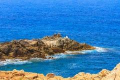 Ledge. Landscape of a ledge in Jijel Algeria royalty free stock photos