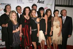 The Ledger Family at the Australian Academy Award Celebration. Chateau Marmont, West Hollywood, CA. 90046 Royalty Free Stock Image