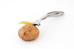 Lediglich Kartoffeln Stockbild