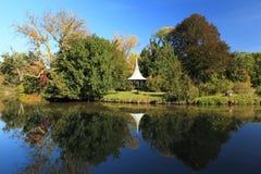 Lednice park landscape Stock Image