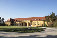 Lednice城堡乘坐的霍尔 免版税库存图片