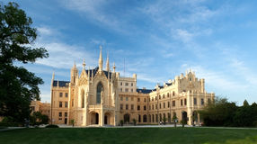 Lednice城堡 免版税图库摄影