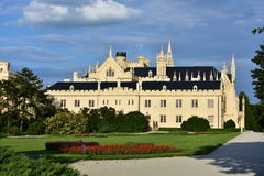 Lednice astle,Czech republic Stock Photography