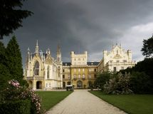 Lednice castle Royalty Free Stock Photography