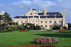 Lednice castle Royalty Free Stock Images