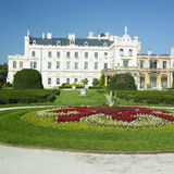 Lednice Castle. Lednice chateau in Czech Republic Stock Images