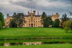 Lednice castle Stock Photography