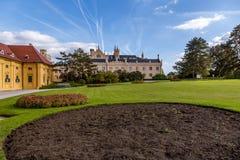 Lednice Castle, Czech Republic royalty free stock image