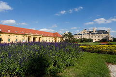 Lednice Castle in South Moravia in the Czech Republic Royalty Free Stock Photos
