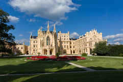 Lednice Castle in South Moravia in the Czech Republic Royalty Free Stock Images