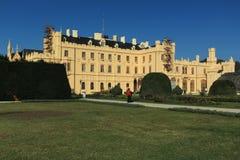Lednice chateau Royalty Free Stock Photo