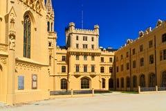 Lednice palace Stock Images