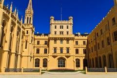 Lednice palace Royalty Free Stock Photos