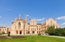 Lednice Palace, Czech Republic. UNESCO site Stock Images