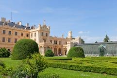 Lednice Palace, Czech Republic. UNESCO site Royalty Free Stock Images