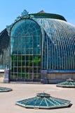 Lednice palace glass house Royalty Free Stock Image