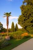 Lednice. Parque francés Foto de archivo libre de regalías