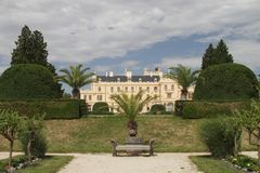 Lednice Schloss Stockbild