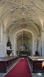 Lednice slott, kapell Arkivbild