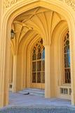 Lednice slottdetaljer, lokal för Unesco-världsarv Royaltyfri Fotografi