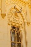 Lednice slottdetaljer, lokal för Unesco-världsarv Royaltyfri Foto