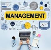 Ledningchef Managing Organization Concept royaltyfri fotografi
