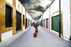 Ledras uliczny Nikozja Lefkosia Cypr Fotografia Stock