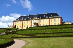 Ledreborg castle in denmark Stock Photography