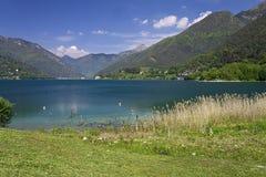 Ledro jezioro Zdjęcia Stock