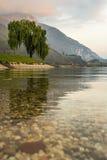 Ledro jezioro Zdjęcia Royalty Free