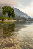 Ledro Lake Royalty Free Stock Photos