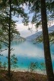 Ledro lake, Italy Royalty Free Stock Photo