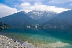 Ledro lake, Italy Stock Photography
