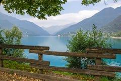 Ledro lake, Italy Royalty Free Stock Photography