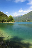Ledro's lake Stock Photos
