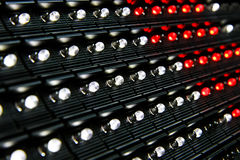LED display surface Royalty Free Stock Images