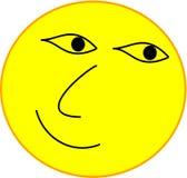 Ledsen fri emoji royaltyfri illustrationer