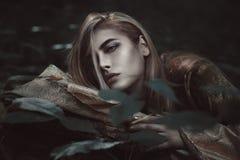 Ledsen varelse av natten Royaltyfria Bilder