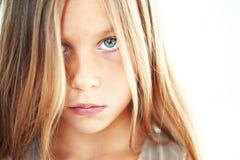 Ledset barn Fotografering för Bildbyråer