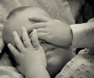 Ledset behandla som ett barn Royaltyfria Foton
