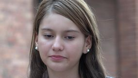 Ledsna Person Depressed Teen royaltyfri bild